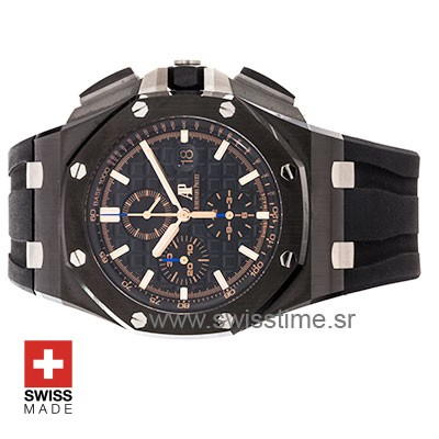 Audemars Piguet Royal Oak Offshore Novelty Chronograph 2017 Ceramic Gold Black 44m