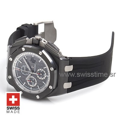 Audemars Piguet Royal Oak Offshore Novelty Chronograph 2017 Ceramic Grey Black 44m