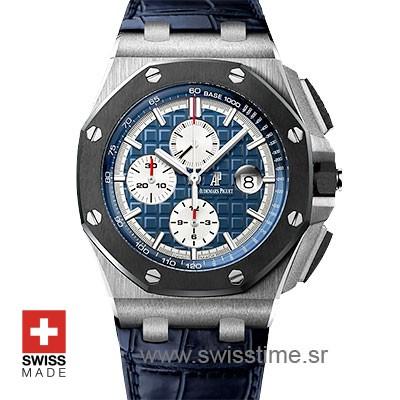 Audemars Piguet Royal Oak Offshore Platinum Blue | Swisstime