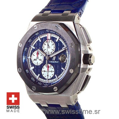 Audemars Piguet Royal Oak Offshore Platinum Blue | Swisstime