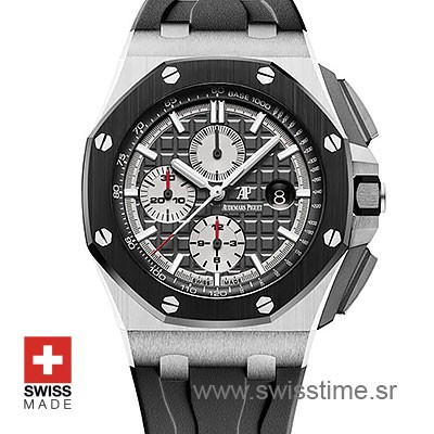 Audemars Piguet Royal Oak Offshore Novelty Chronograph 2017 Titanium Grey 44m Swiss Replica
