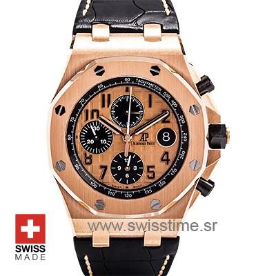 Audemars Piguet Royal oak Offshore 18k Rose Gold | Swisstime