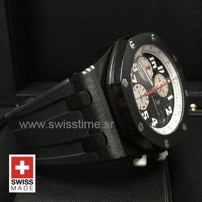 Audemars Piguet Royal Oak Offshore Marcus London Black DLC 42mm Swiss Replica