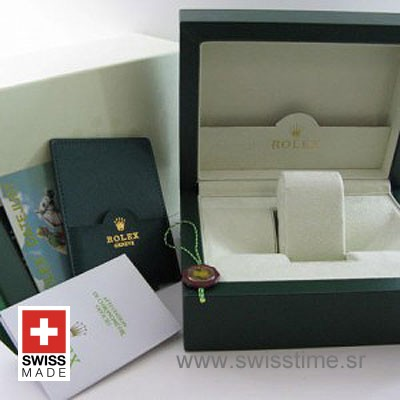 Rolex Watch Box and Papers with International Warranty Card