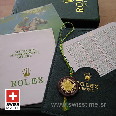 Rolex Box Set With Papers-1895