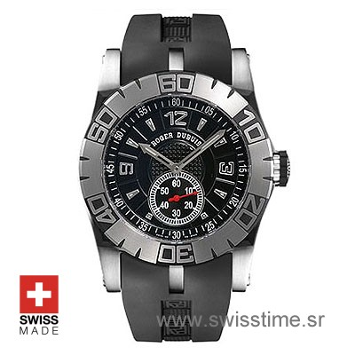 Roger Dubuis Easy Diver SS Black-0