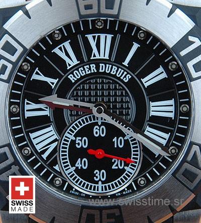 Roger Dubuis Easy Diver SS Roman Black-455