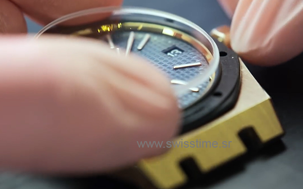Making of Audemars Piguet Swiss Replica Watch sapphire crystal