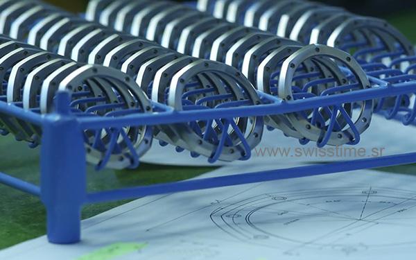 Making of Audemars Piguet Swiss Replica Watch metallic bezels