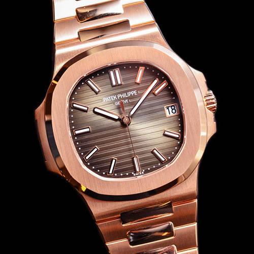 Best Patek Philippe Nautilus Rose Gold Replica Watch Review