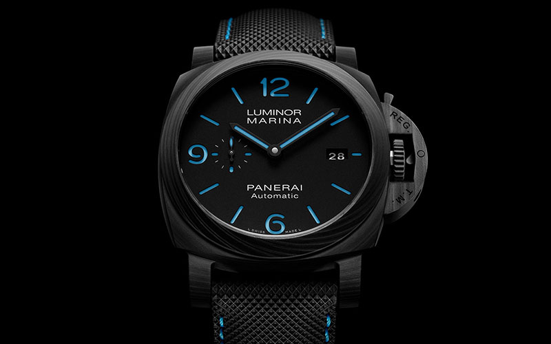 Panerai Luminor Marina Blue Carbotech 1661 Review Swisstime