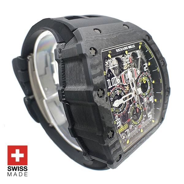 Richard Mille RM11-03 Carbon Swiss Replica Watch | Swisstime