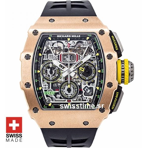Felipe Massa Richard Mille RM011-03 Rose Gold | SwissTime