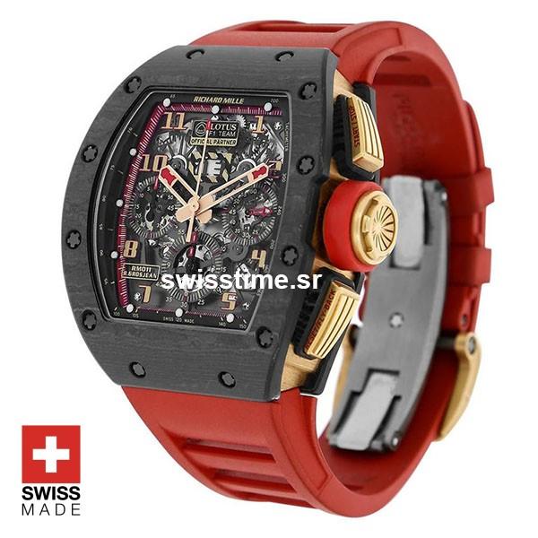 Richard Mille RM011 Lotus F1 Swiss Replica Watch | Swisstime