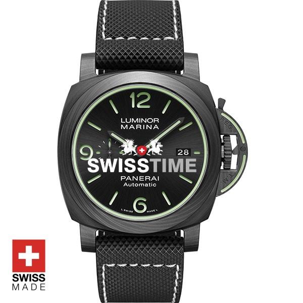 Panerai Luminor Marina Carbotech Green | Swisstime Watches