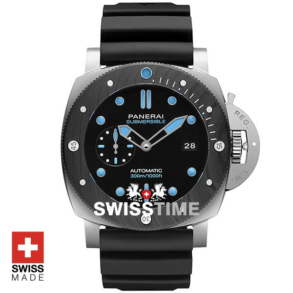 Panerai Submersible 47mm Rubber Strap | Swisstime Watches