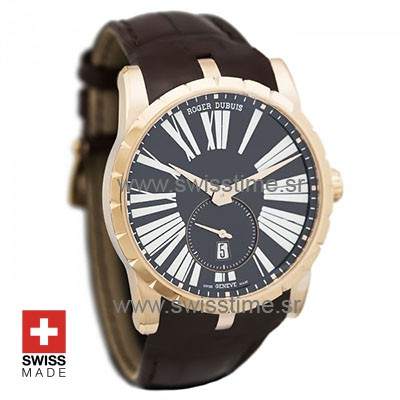 Roger Dubuis Excalibur Automatic 18k Rose Gold | Swisstime