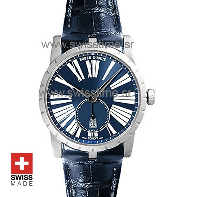 Roger Dubuis Excalibur Automatic Steel Blue Dial | Swisstime