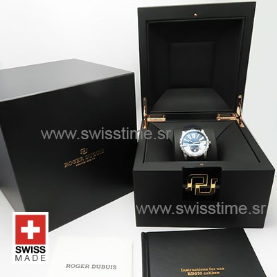 Roger Dubuis Excalibur Automatic Steel Blue Dial   Swisstime