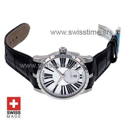 Roger Dubuis Excalibur Automatic Steel Silver Dial   Swisstime