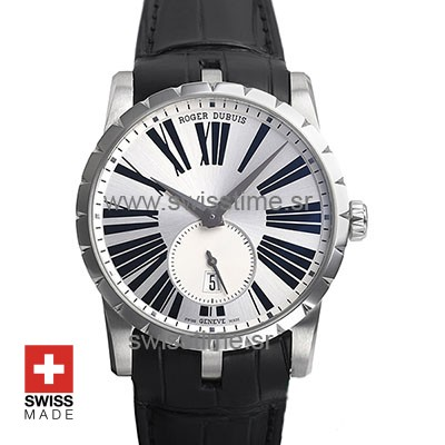 Roger Dubuis Excalibur Automatic Steel Silver Dial | Swisstime