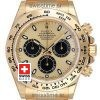 Rolex Daytona 18k Yellow Gold | Gold Panda Dial Replica watch