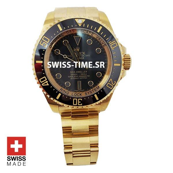 swisstime Deepsea swiss gold Replica Watch