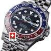 SWISSTIME ROLEX GMT MASTER II STEEL JUBILEE PEPSI BEZEL 126710BLRO 40MM 13