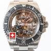 Rolex Submariner Skeleton Dial Carbon Bezel   Swisstime Watch