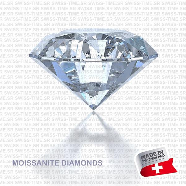 SWISSTIME REAL MOISSANITE DIAMONDS