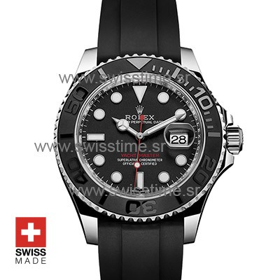 Rolex Yacht-Master Ceramic Bezel | Black Dial Replica Watch