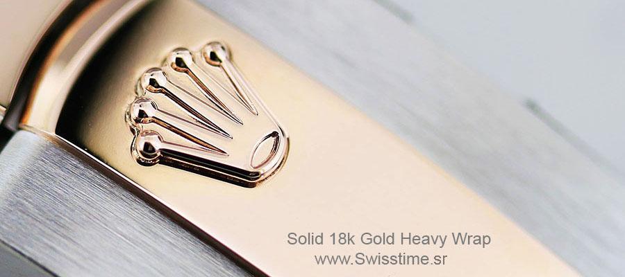 18k yelow Gold Replica Watch