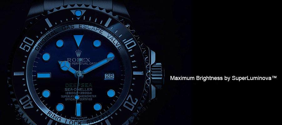 Superluminova Rolex Swiss Replica Watches