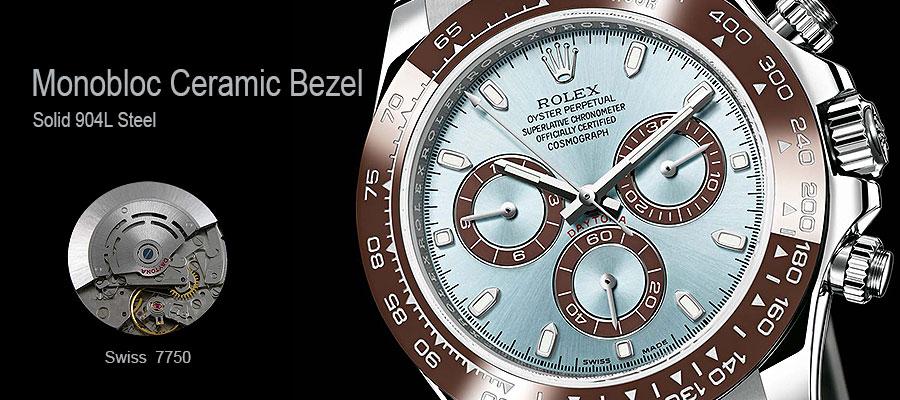 Monobloc Ceramic Bezel Replica Watch
