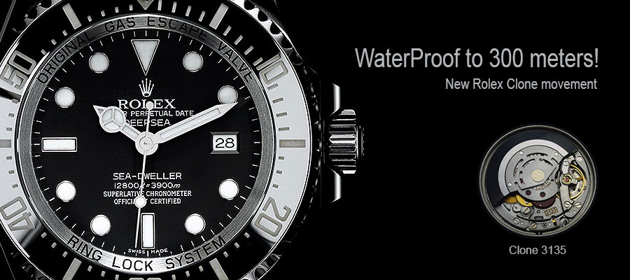 Rolex Waterproof Watche