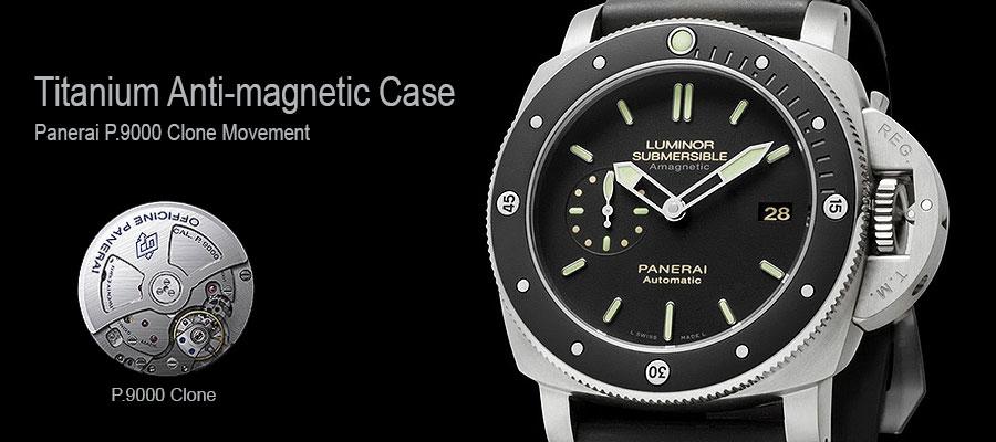 Panerai p90000 Clone Movement Replica Watch