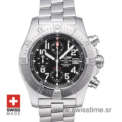 Breitling Super Avenger 2 Black Dial | Buy Luxury Replica Watch