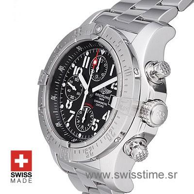 Breitling Super Avenger 2 Black Dial   Buy Luxury Replica Watch