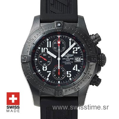 Breitling Avenger Skyland Blacksteel | Luxury Replica Watch