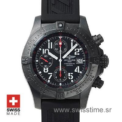 Breitling Avenger Skyland Blacksteel | Luxury Replica Watch