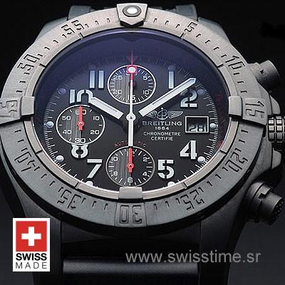 Breitling Avenger Skyland SS Blacksteel-606