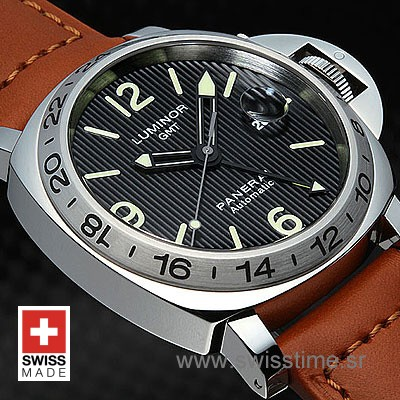 Panerai Luminor Gmt Automatic 44mm Swisstime Replica Watch
