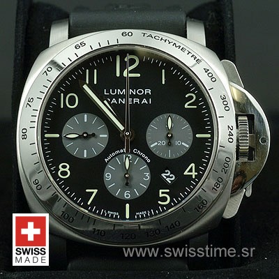 Panerai Luminor Chrono Daylight PAM196 | Swisstime Watch