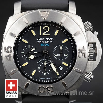 Panerai Luminor Submersible Chrono 1000m | Swisstime Watch