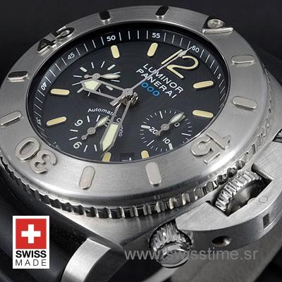 Panerai Luminor Submersible Chrono 1000m | Swisstime Watch