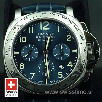 Buy Panerai Luminor Chrono Daylight 44mm Titanium Blue Dial