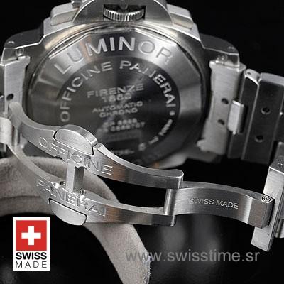 Panerai Luminor Daylight Chronograph   Steel Replica Watch