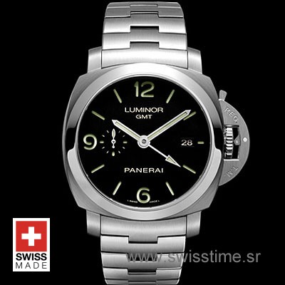 Panerai Luminor 1950 3 Days GMT | Steel Swiss Replica Watch