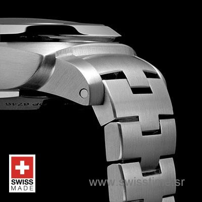 Panerai Luminor 1950 3 Days GMT   Steel Swiss Replica Watch