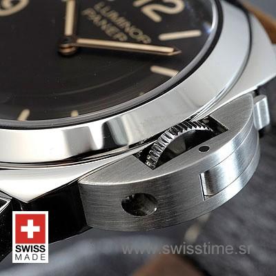 Panerai Luminor Base | Brown Leather Strap | Swiss Time Watch